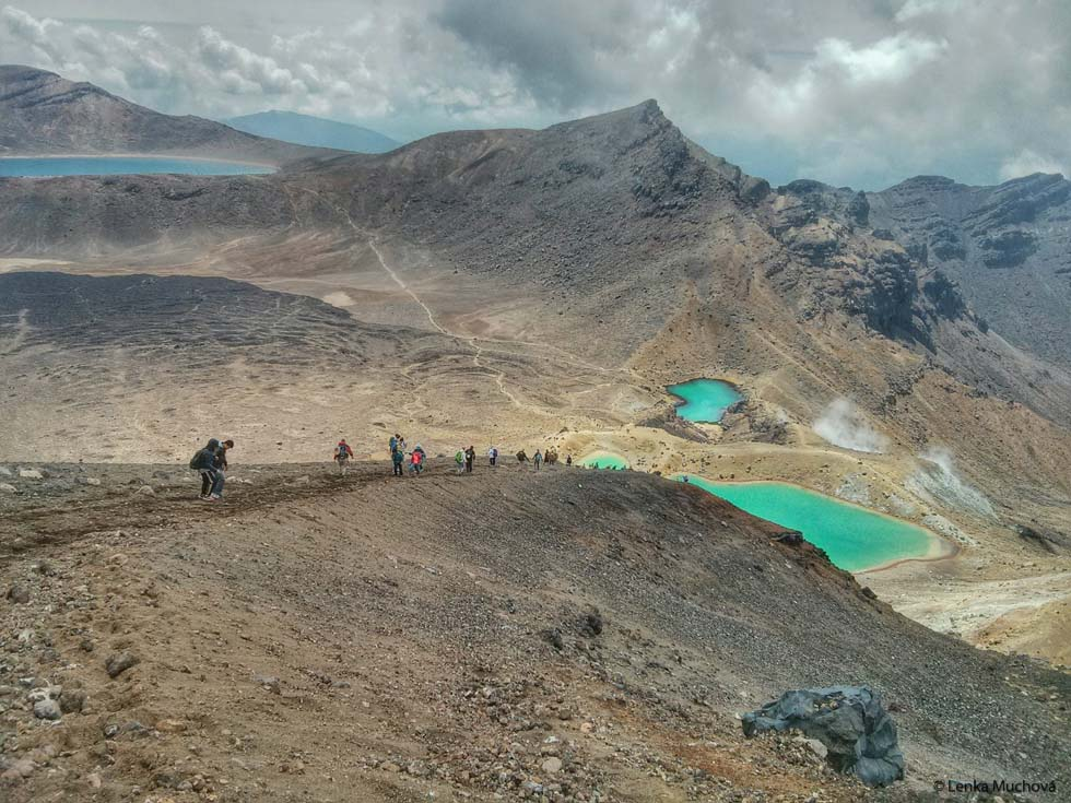 Tongariro Alpine Crossing, Nový Zéland