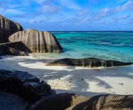 Anse Source d'Argent - ostrov La Digue